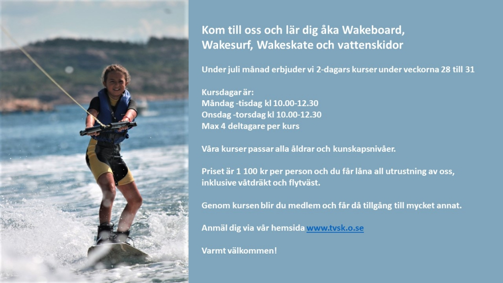wakeboardkurs 2018